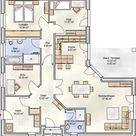 Bungalow 130 qm Wohnfläche - unser Bungalow PLAN 128 hat fast 130 m² Grundriss als Winkelbungalow - Blohm GmbH