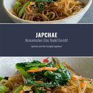 Japchae angebratene Glasnudeln Rezept ✪ japanische & koreanische Rezepte