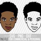 Afro Boy svg, African svg, Black Boy svg, Melanin svg, Afro Man svg, layered svg, File for Cricut, Silhouette, Instant download, Cuttable
