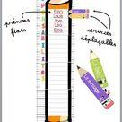 [Outils classe] Affichage des responsabilités BIS  Le crayon inversé