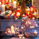 Micandle 24 Battery Timer Tea Lights Candle, Warm White Flickering Flameless Timer Candles Tealights for Thanksgiving Christmas Wedding Party Decor, 6 Hours on and 18 Hours Off in 24 Hours Cycle