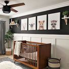 How to Use Bold Colors in a Gender Neutral Nursery