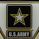 Official US Army Shield Heavy Duty Auto Emblem