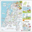 Super grote kleurplaten van Nederland en Amsterdam - Leuk met kids