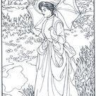 Schilder S. Sargent - Kunst kleurplaten