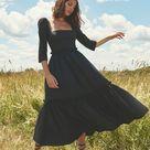 Blue Hill Cotton-Poplin Midi Dress By Cara Cara | Moda Operandi