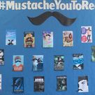 Mustache Bulletin Board