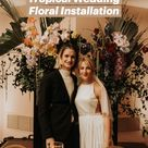 Tropical Wedding Floral Installation