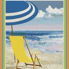 Myrtle Beach Travel poster Counted Cross Stitch PDF Digital   Etsy