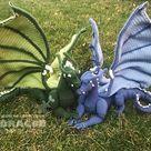 Crochet Dreamcatcher Dragon - Pattern Only