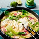 Spicy Thai Nudelsuppe