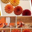 DIY Paper Dahlia – The Oversized Paper Version of the Beloved Spring Flower   The Inspired Bride