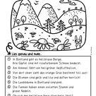 Lesen und malen (Buntland)