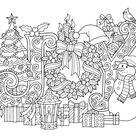 10 ColorIt Christmas Sample Drawings