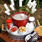 20 Best of S'more Bar Wedding Food Station Ideas   Roses & Rings