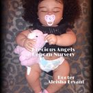 AA Reborn Baby Custom Made to Order from The Realborn 7 month Asleep June Kit