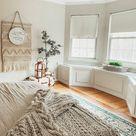 Bohemian Bedroom Decor - Master Bedroom Ideas - Neutral Modern Farmhouse Decor