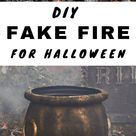 How to Make the Ultimate Fake Fire Prop for Halloween