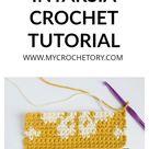 How to do INTARSIA CROCHET - free tutorial for beginner