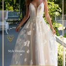 Floral Lace Wedding Dresses