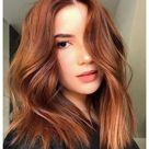 red hair natural auburn