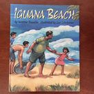 Charming Vintage Storybook Iguana Beach about a   Etsy
