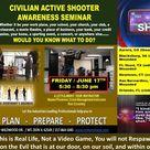 Civilian Active Shooter Awareness Seminar June 2016