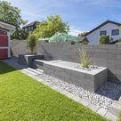 Moderne & geradlinige Scona Mauersteine für Ihr Grundstück