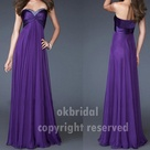 Long Purple Dress