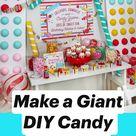 Make a Giant DIY Candy Backdrop