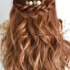 Simple Braided Hair Style