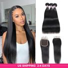 Brazilian Remy Human Hair Bundles 9A Grade 100 Unprocessed Natural Color Brazilian Straight Body Wave Virgin Human Hair Wefts Extensions From Jingleshairbundles, $32.16   DHgate.Com