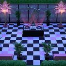 Vaporwave venue /night