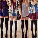 High Socks Outfits