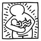 Kids-n-Fun | Coloring page Keith Haring Keith Haring