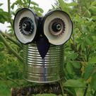 How To Make A Recycled Tin Can Owl • Craft Invaders