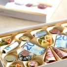 Pralinés monnaies - Geldgeschenk kreativ verpacken - Herbs & Chocolate