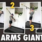 4 TRX Exercises Giant Set for Biceps & Triceps.   TRX Traveller