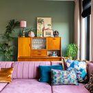 Stylingadvies bij de winnares van de Samsung The Frame QLED tv (+binnenkijken in een kleurrijk vintage interieur) | Styled by Sabine