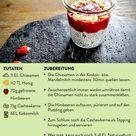 Chia Pudding mit Kokosmilch