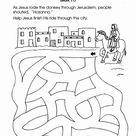 Religious Preschool Worksheets