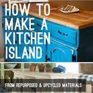 How to Make a Kitchen Island • OhMeOhMy Blog