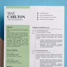 Professional CV Resume Template Word  Cover Letter  Free | Etsy
