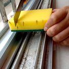 clean window gap easily