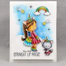 My Favorite Things BB Unicorns and Glitter Stamps Set
