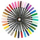 Set De 6 Feutres Pinceau Koi Coloring Brush Pen Basic Set De Sakura