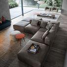 Novamobili reverse wohnzimmer livarea minimalistische wohnzimmer   homify