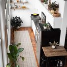 A Beautiful 600-Square-Foot Studio Was Furnished on a Small Budget