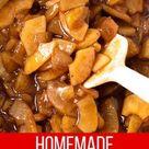 Easy Apple Pie Filling - Everyday Pie