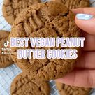 Peanut Butter Cookies- The Easiest Ever! - Veggie World Recipes